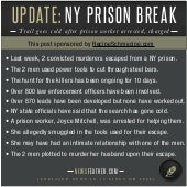 Update: New York Prison Break