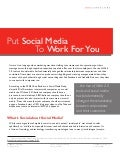 Put Social Media To Work For You