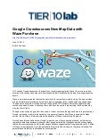 Google Crowdsources New Map Data with Waze Purchase