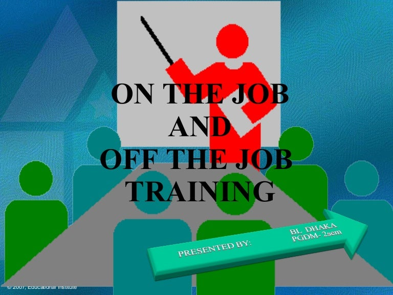 Job Training Methods 18188520 Job-training-method