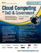 Cloud Computing for DoD and Governm...