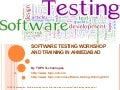 Software Testing Workshop and Training in Ahmedabad