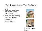 Fall Protection in Constuction