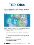 Social Marketing: 8 Rules for Facebook Hashtags
