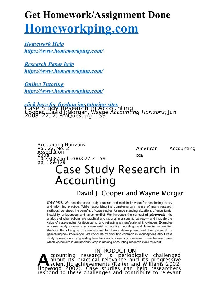 Conflict resolution case study research paper cress sp