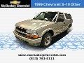 Used 1999 Chevrolet S-10 at your Chevy Cincinnati Ohio Dealer