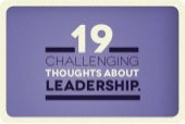 19 challenging thoughts about leadership   2nd edition