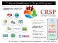 Collaborative Research Support Programs (CRSP)