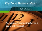 1 The New Balance Sheet