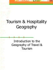 1  Tourism Geography[1]
