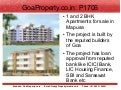 1 and 2 bhk apartments for sale in mapusa goa property - goaproperty.co.in - p1706