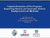 Targeted Evaluation of Five Program...