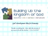 Building the United Kingdom of Heaven