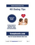 Special 40 Dating Tips by 1coupleavie