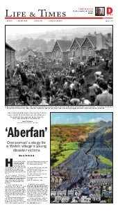 Aberfan - One Woman's elegy for a Welsh village's young disaster victims