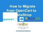 How to Migrate from OpenCart to Pre...