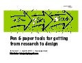 See->Sort->Sketch : Pen & Paper Tools to get from Research to Design : IA Summit 2010 version