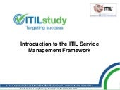 Introduction to ITIL Service Manage...