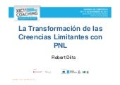 Robert Dilts : La transformación de...