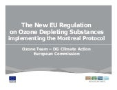The new EU Regulation on Ozone Depl...