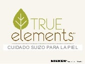 Presentacion True Elements by Nikken
