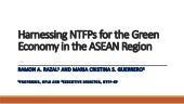 Harnessing NTFPs for the Green Economy in the ASEAN Region