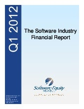 Q1-2012 Software Valuations