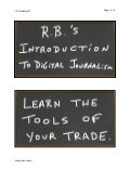 R.B.'s Course Introduction