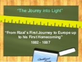 1st journey of rizal