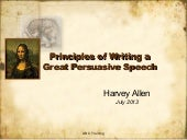 1 wrting a persuasive speech