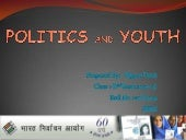 POLITICS AND YOUTH