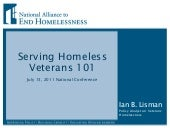 2.11 Serving Homeless Veterans 101