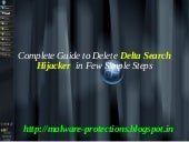 Delete Delta Search Hijacker : How ...