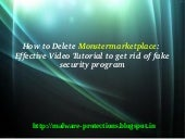 delete Monstermarketplace : Steps t...