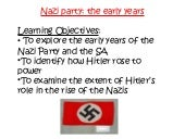 nazi party_the_early_years