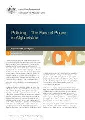 Working paper 2 2013 - Policing – T...