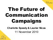 2.8 The Future of Communication Campaigns - Charlotte Speedy and Laurier Nicas