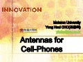 Antennas for Cell-Phones