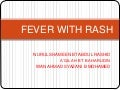 2. fever with rash