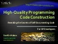 Writing High Quality Code in C#