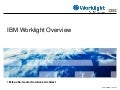 IBM Worklight-Overview