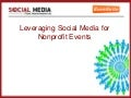 Leveraging Social Media for Events