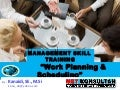 "Planning and Schedulling ""MANAGEMENT Skill"" TRAINING"