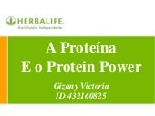 As Proteínas e o Protein Power