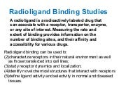 radioligand binding studies