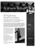 2. strengthening board governance