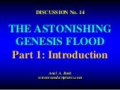 14. the astonishing genesis flood, ...