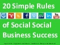 20 Simple Rules of Social Business Success