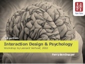 Interaction Design & Psychology (2002)