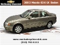 Used 2002 Mazda 626 LX Sedan at Cincinnati and Hamilton, Ohio